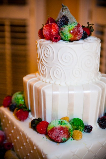 LDS Wedding Cake