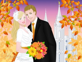 Fall Theme Wedding Planning Cover