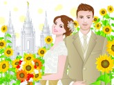 LDS Wedding Planning Covers, Summer