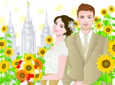 Online LDS wedding planning cover