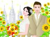 LDS wedding planning, WeddingLDS.com