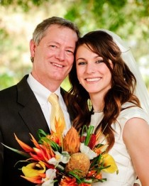Father of the LDS bride