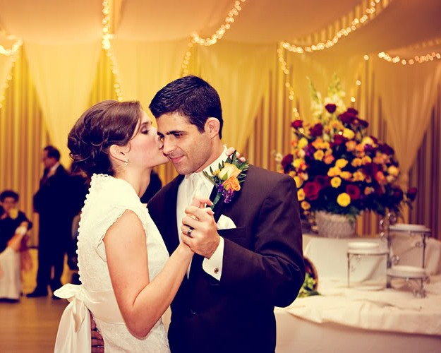LDS Bride and Groom First Dance, Featured Real LDS Wedding Receptions