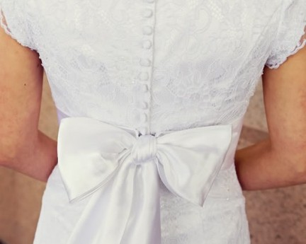 Featured LDS Bride's Dress, WeddingLDS.com