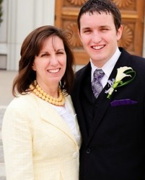 Mother of the LDS groom