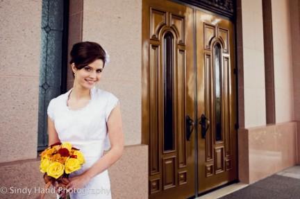 LDS Bride, Real Mormon wedding