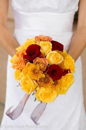 An LDS bride's wedding Bouquet