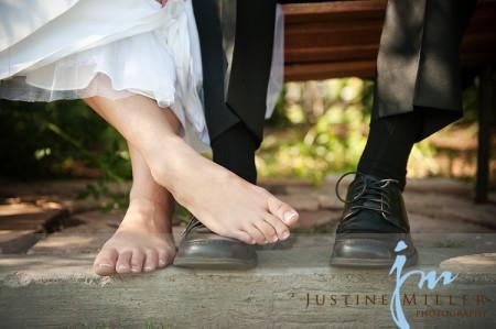 bridal feet tips