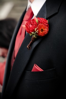 An LDS groom's tux