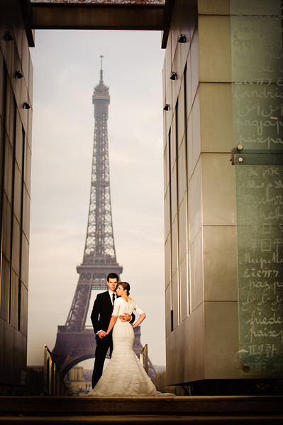 Marriage for Time and All Eternity, Featured February 2012 LDS wedding, Mormon wedding