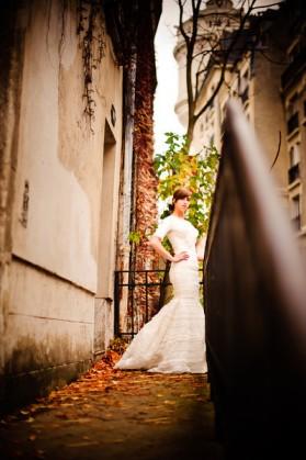 LDS bride in Paris, LDS wedding, featured LDS wedding