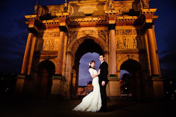 Featured Real LDS Featured Wedding February 2012, Bride and Groom