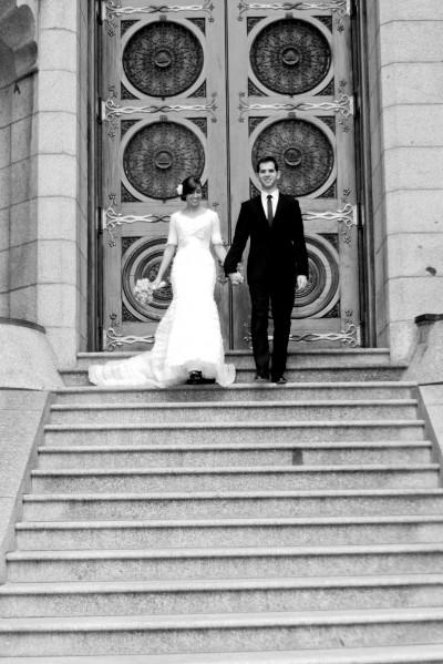 LDS bride, Featured February 2012 Wedding, Mormon Weddings