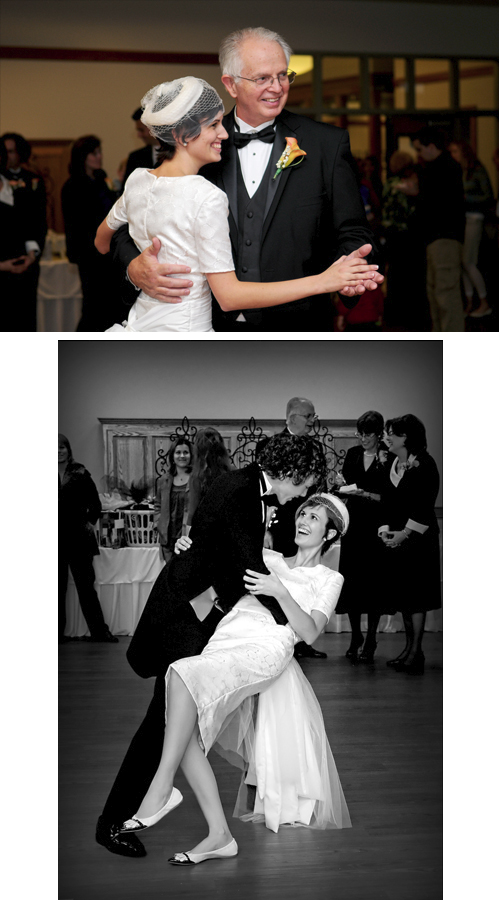 Featured Real LDS Wedding, reception dance