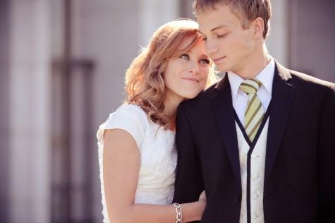 Real Mormon wedding
