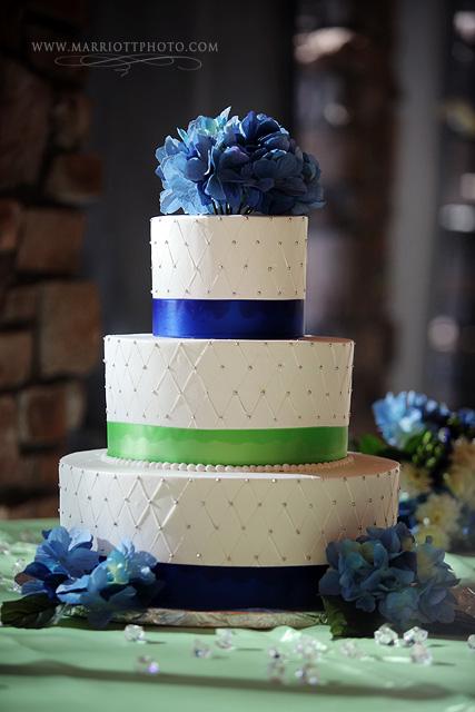 LDS wedding, wedding cake