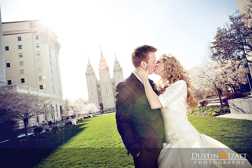 Featured Real LDS Wedding