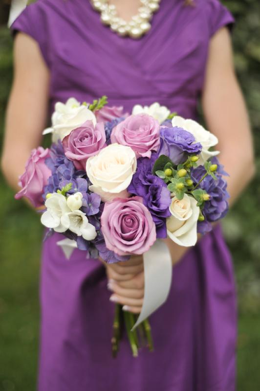 LDS wedding flowers