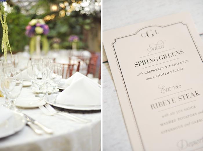 LDS Wedding Reception Dinner