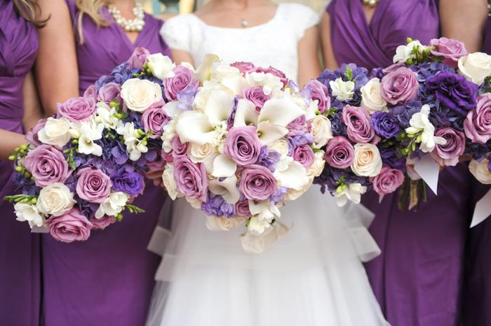 Real Mormon wedding, wedding flowers