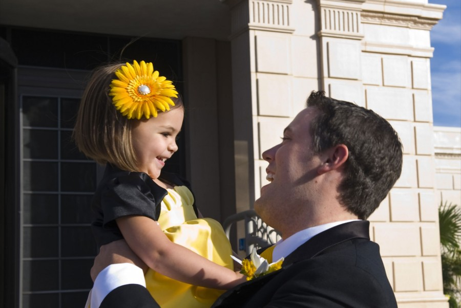 Featured LDS Wedding