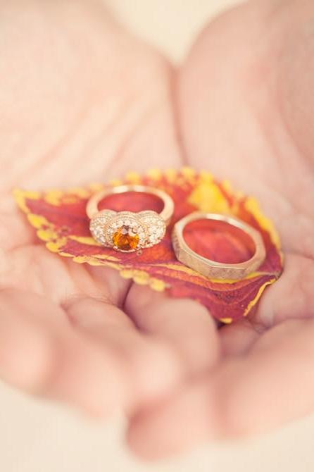 An LDS groom displays an heirloom wedding ring set