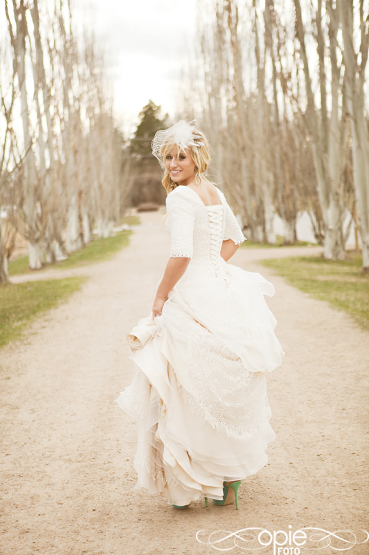 Modest Wedding Dresses, Photo By Opie Photo, Weddinglds.com
