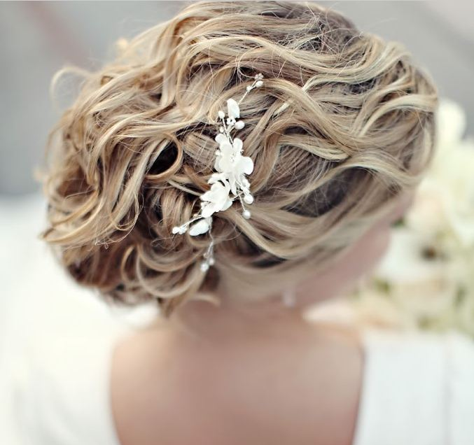 Bridal Hair Style, weddinglds.com