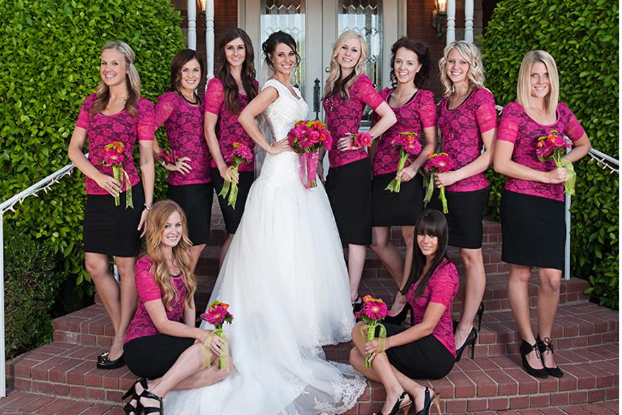 LDS Bridesmaids, WeddingLDS.com