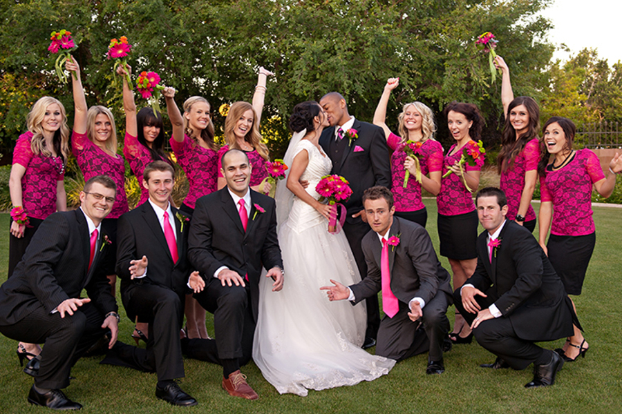 Black And Pink Wedding Theme Gallery Wedding Decoration Ideas