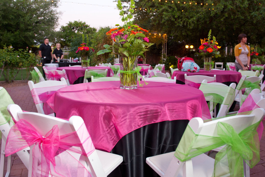 Fuschia And Lime Green Wedding Decorations And Lime Green Wedding