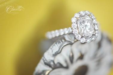a beautiful wedding ring