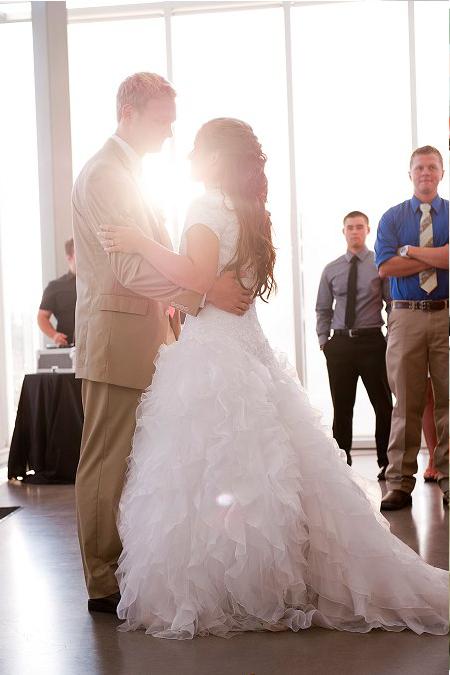 LDS Wedding Reception First Dance, WeddingLDS.com