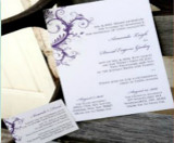 types of wedding invitation designs
