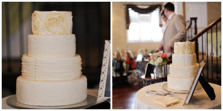 LDS wedding reception, LDS Wedding Cake, Cream Wedding Cake, Color for LDS Weddings, LDS Wedding, WeddingLDS.com