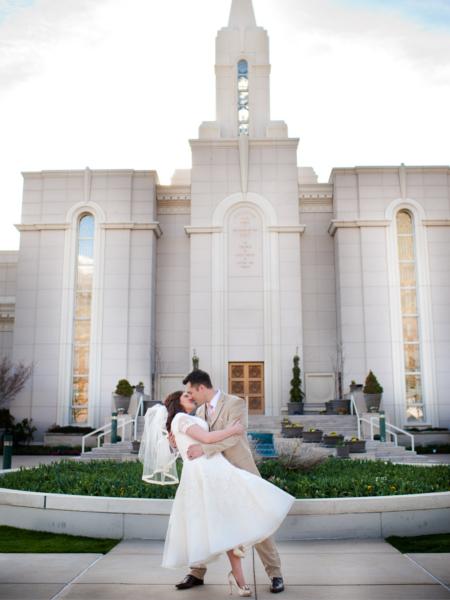 Mormon Wedding Ceremony Time Mini Bridal