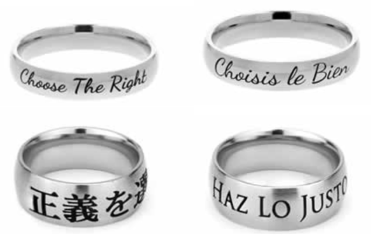 featured LDS CTR Rings