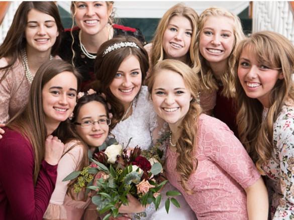 LDS weddings attendants
