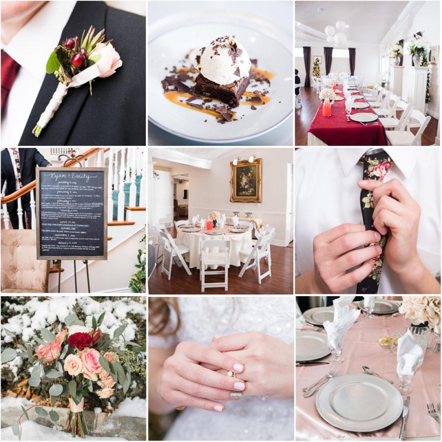 Elegant LDS wedding receptions
