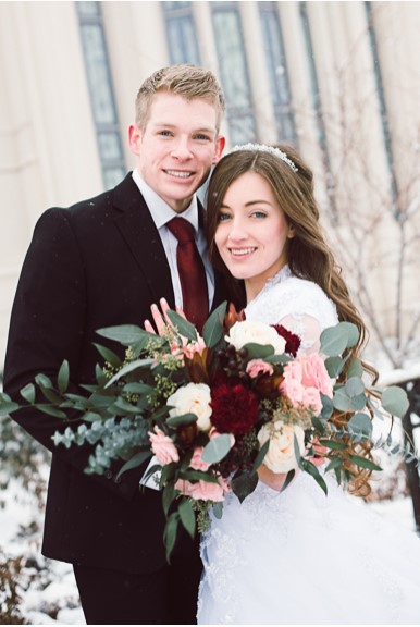 featured LDS weddings