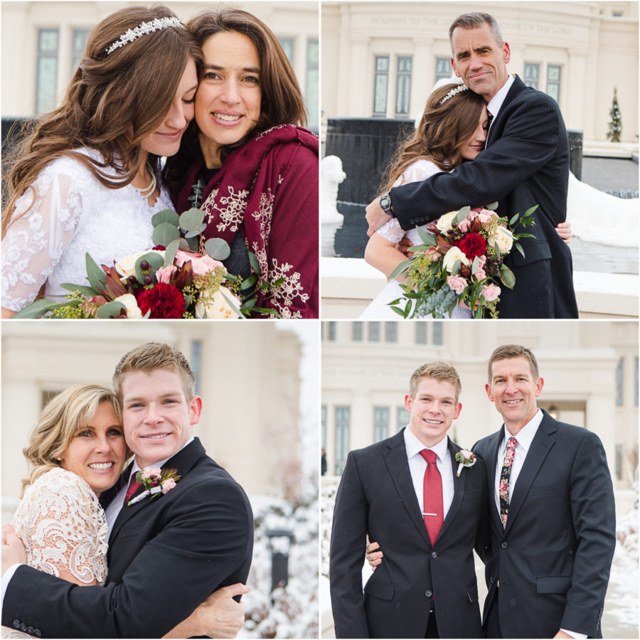 parents of LDS brides and grooms