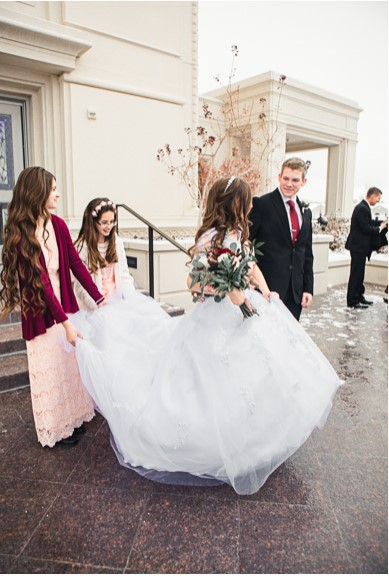 Modest LDS Wedding Gowns and modest dresses